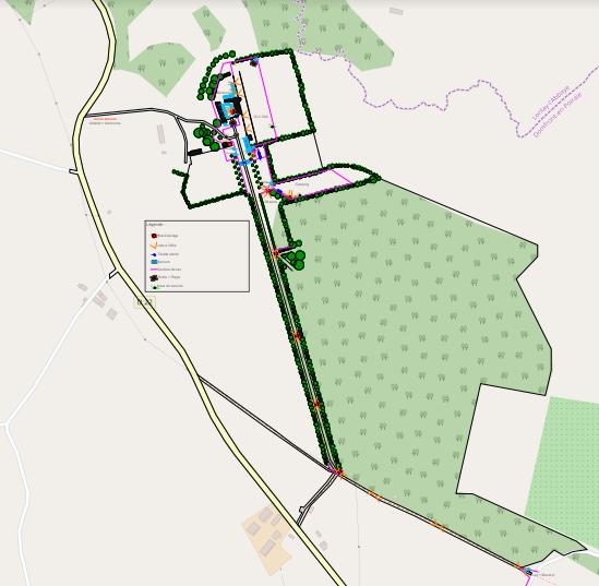 plan de masse, plan 3D, plan cadastre, plan de site, accès secours