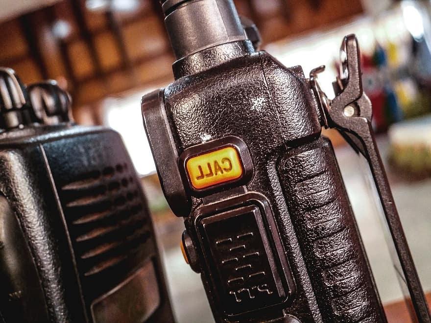talkie walkie, télécommunication, dect